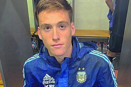 El entrerriano Jabes Saralegui entrenará desde el lunes con la selección argentina sub 20