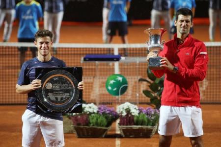 Tenis: Schwartzman cayó con Djokovic y no pudo cerrar con un título su mejor Masters 1000