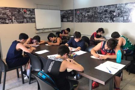 """Olimpia comenzó el taller interdisciplinario """"Sembrando Huella"""""""