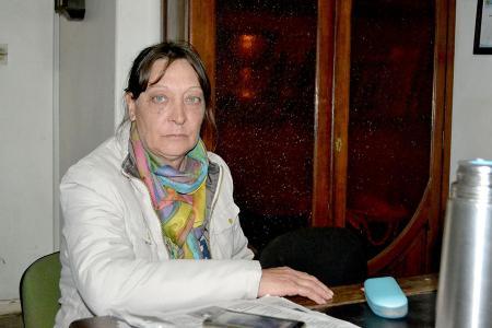 Silvia Cortesi, hermana de Fabio Darío, quien está desaparecido desde el 15 de agosto.