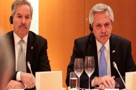 Felipe Solá y Alberto Fernández