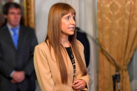 Fotografía de archivo de la ministra de Salud de la provincia, Sonia Velázquez.
