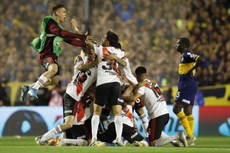 "River cayó con Boca en ""La Bombonera"" pero será otra vez finalista de la Copa Libertadores"