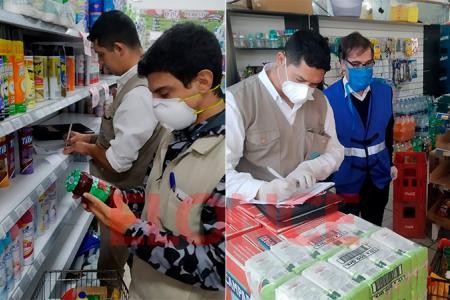 Clausuraron tres supermercados por no respetar los precios máximos establecidos