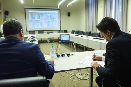 Trotta abordó la situación educativa con sus pares de la región y España