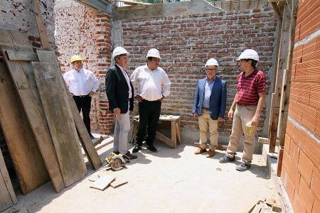 Autoridades provinciales recorrieron las obras que se realizan en el Túnel Subfluvial en el marco del 50 aniversario del enlace Paraná-Santa Fe.