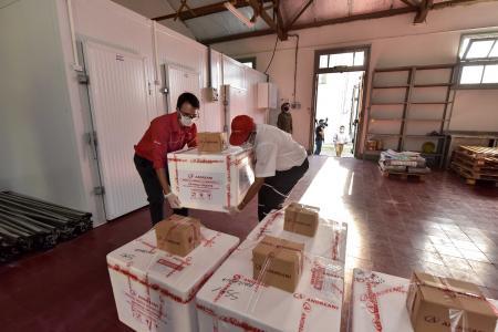 Llegaron a la provincia 19.800 dosis de la vacuna Sputnik