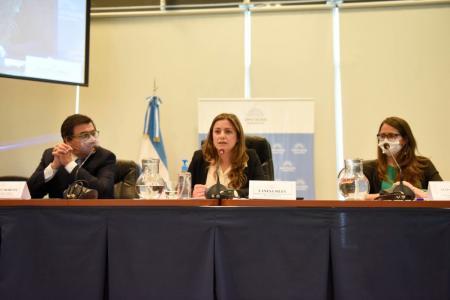 Moroni y Gómez Alcorta defendieron en Diputados el proyecto sobre seguridad laboral