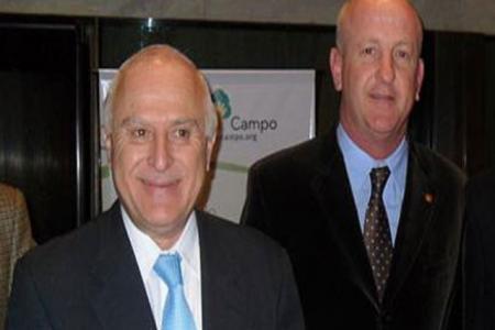 Lisandro Viale junto a Miguel Lifschitz