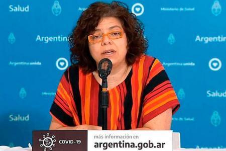 La ministra de Salud Carla Vizzotti anunció que tiene Covid-19