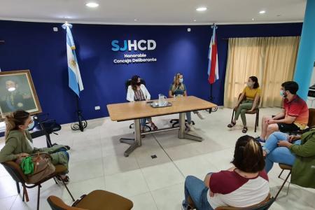 Foto prensa Secretaría de la Juventud