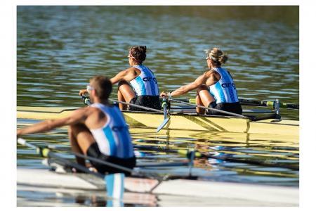 Remo: los argentinos tuvieron un buen inicio por el Preolímpico en Río de Janeiro
