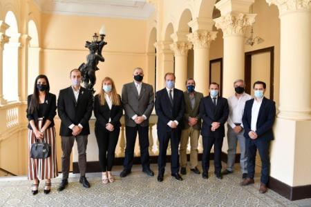 Bordet y el Consejo de Ciencias Económicas dialogaron sobre modernización del Estado