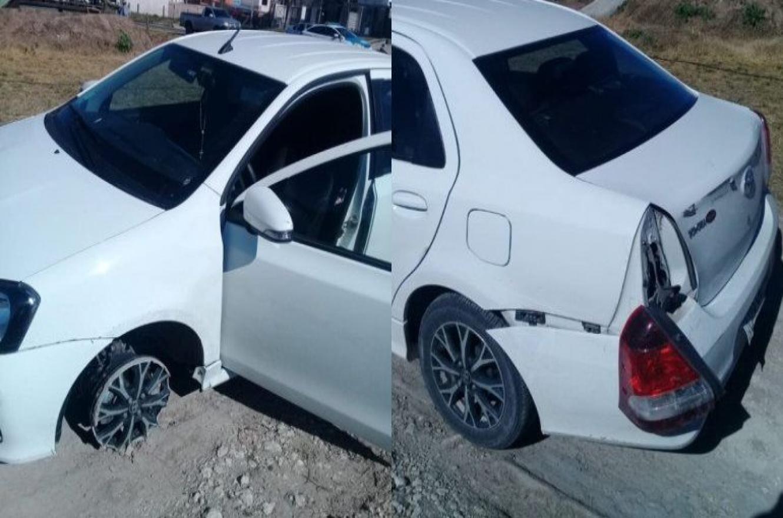 Hallaron con destrozos y en Oro Verde el auto robado a una familia en Paraná