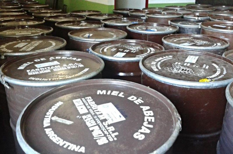 Exportaciones de miel