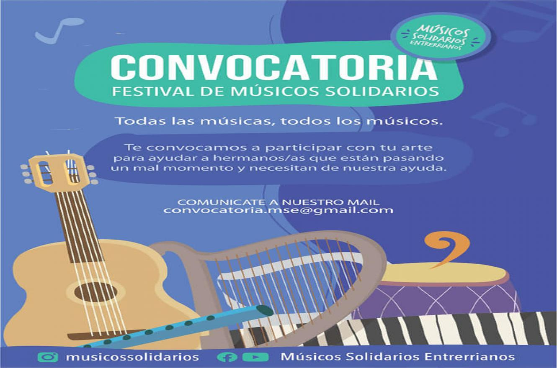Tercer Festival de Músicos Solidarios