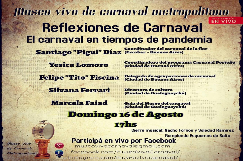 """ciclo """"Reflexiones de Carnaval"""""""
