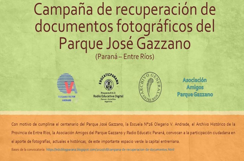 100 años del Parque Gazzano