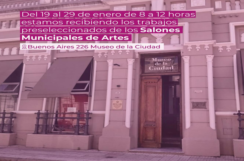 Salones Municipales de Artes 2020