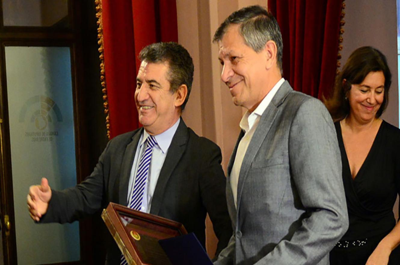 Sergio Urribarri y Pedro Báez