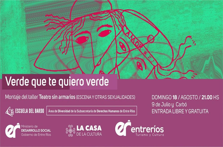 """""""Teatro sin armarios, escena y otras sexualidades"""""""