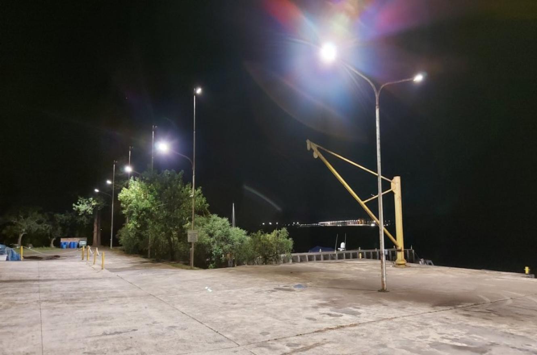 Salto Grande iluminación