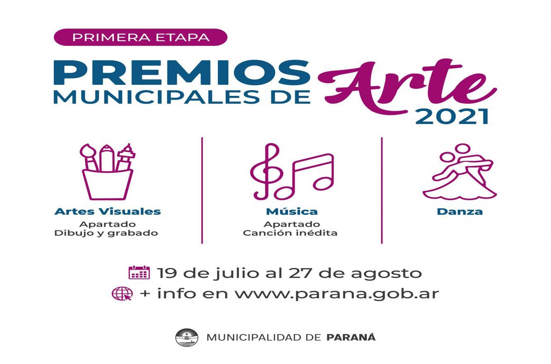 Premios de Artes Municipales 2021