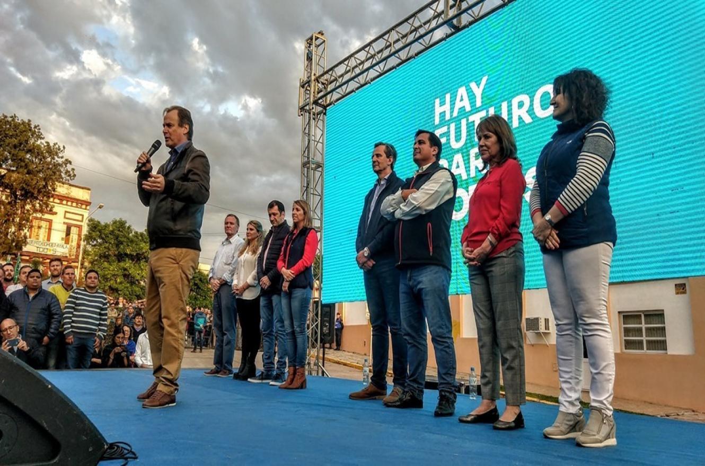 cierre de campaña Frente de Todos en Paraná