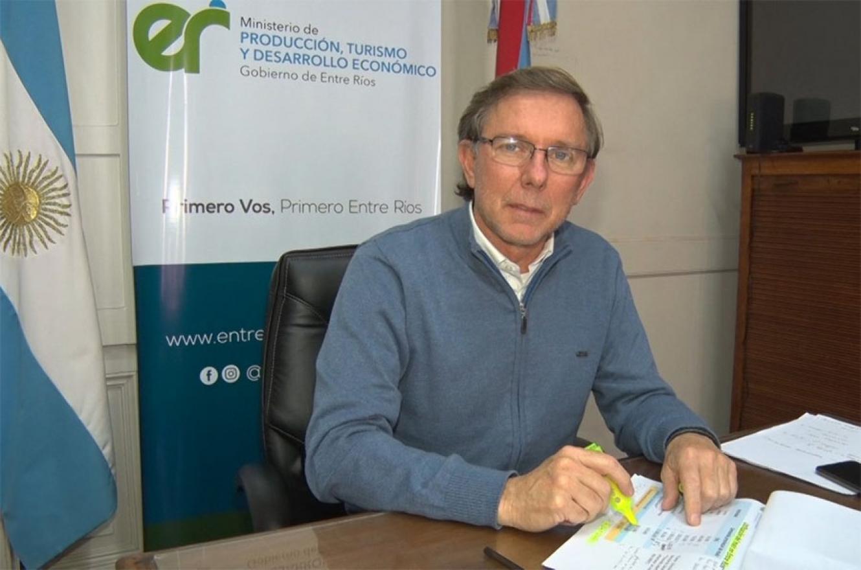 Juan José Bahillo es ministro de Producción, Turismo y Desarrollo Económico de la provincia.