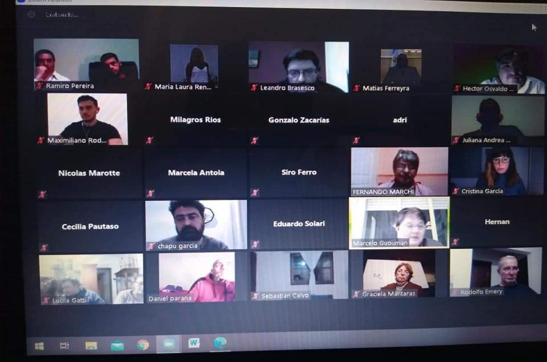 Realizaron una charla virtual sobre la regulación de los delivery