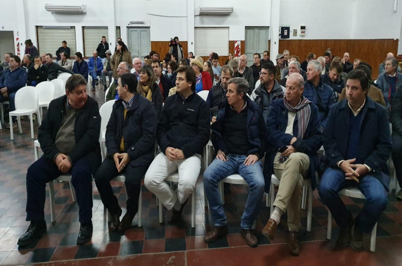 Reunión en Crespo