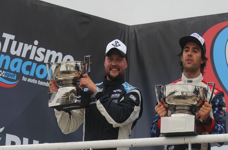 """El crespense Gassmann dijo estar """"feliz"""" por el podio, pero """"dolido"""" por ganar en el TN"""
