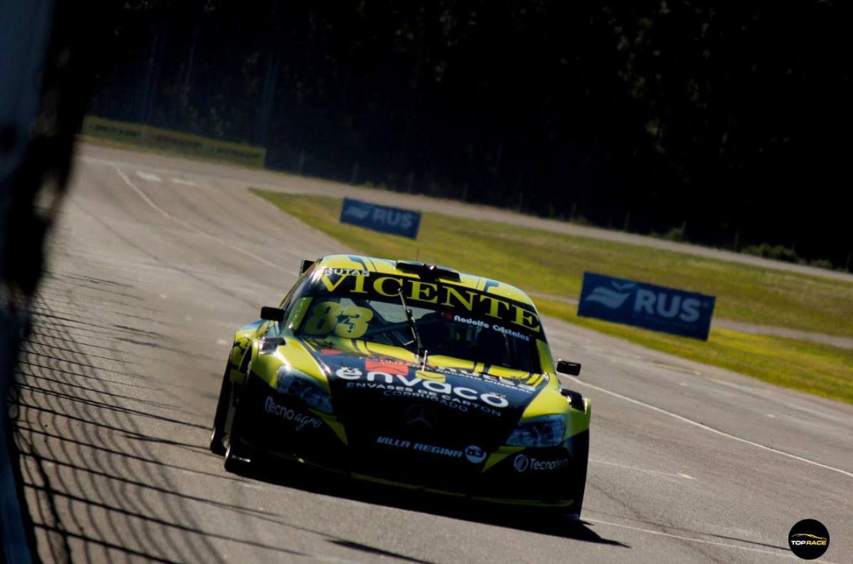 Diego Azar marcó el ritmo de la primera jornada del Top Race en Concepción del Uruguay