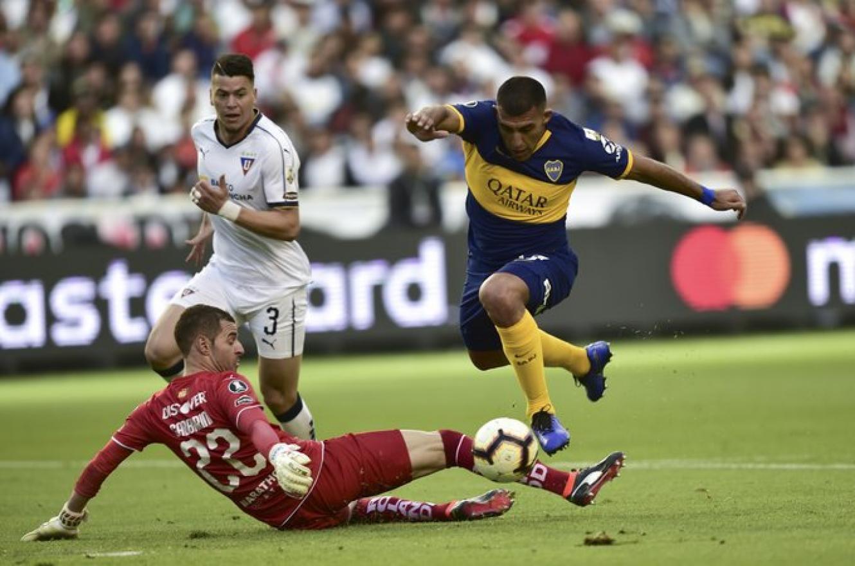 Copa Libertadores: Boca goleó en la altura de Quito y puso un pie en semifinales