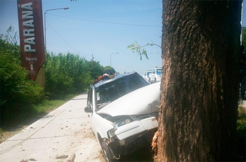 choque acceso a Paraná
