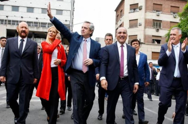 Alberto Fernández y gobernadores