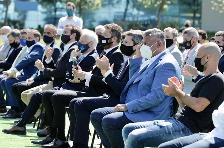 Los dirigentes argentinos votaron la rescisión del contrato antes del sorteo del nuevo torneo en Ezeiza.