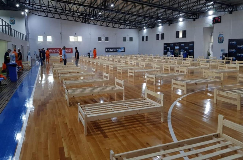 La AFA armará un hospital de campaña en la cancha de fustal del predio de Ezeiza