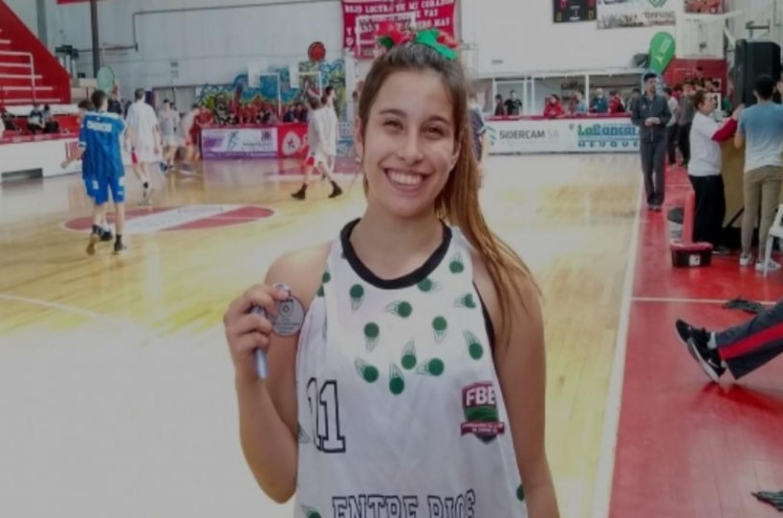 """Agustina Marín: """"Fue un gran torneo y estamos muy felices con el trabajo que hicimos"""""""