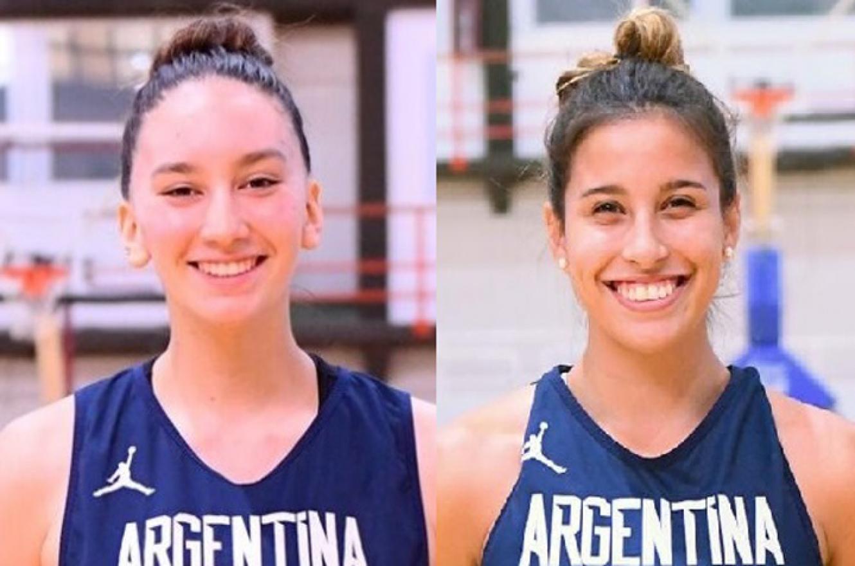 Básquet: las entrerrianas Navarro y Marín siguen en carrera hacia el Premundial