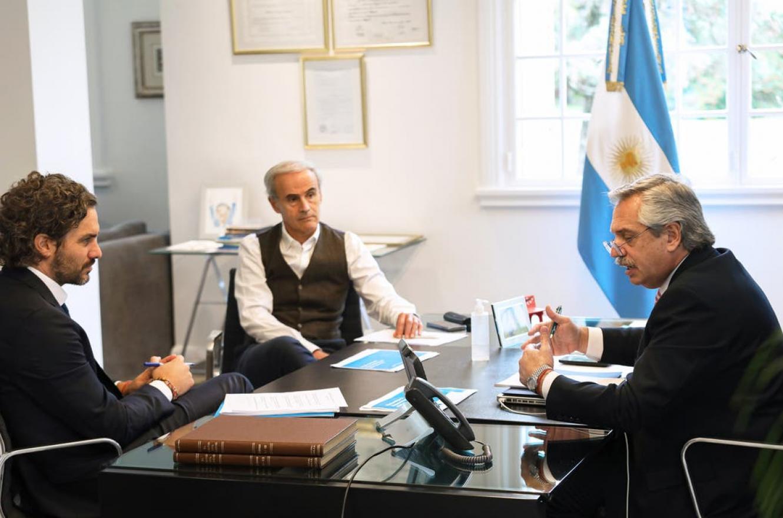 Alberto Fernández habló con Sebastián Piñera tras los últimos cruces