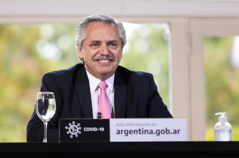 """Fernández anunció un plan de obras para seis provincias con el programa """"Argentina Hace"""""""