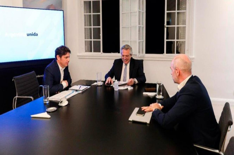 Habrá más apertura en CABA y Kicillof acordó nuevas flexibilizaciones