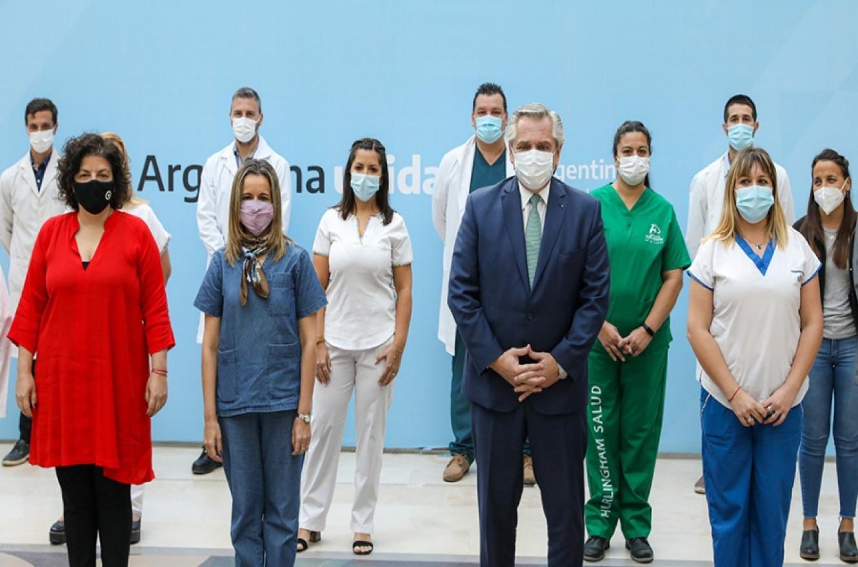 Alberto Fernández dio una entrevista al canal CNN en Español y entre otros temas se refirió a la pandemia por el coronavirus.