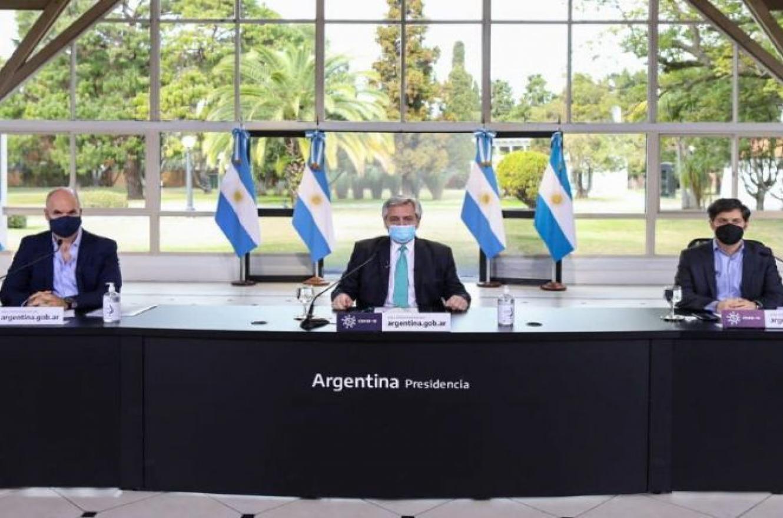 """Fernández mencionó a Entre Ríos como una de las zonas donde """"el virus empezó a irradiar"""""""