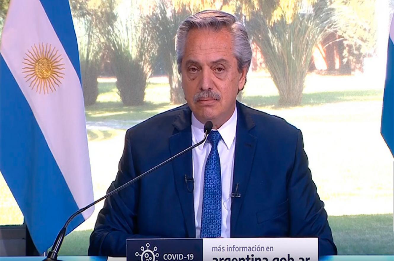 Fernández anunció que la cuarentena seguirá hasta el 30 de agosto y habló de Paraná