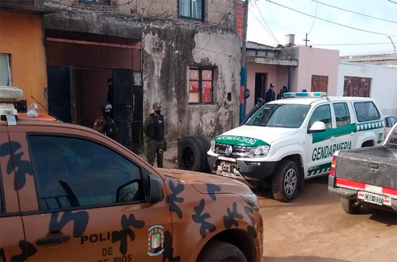 allanamiento narco en Gualeguaychú