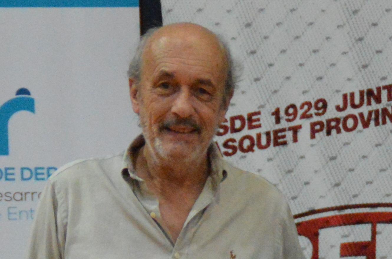 Carlos Álvarez renunció a la presidencia de la Federación de Básquet de Entre Ríos