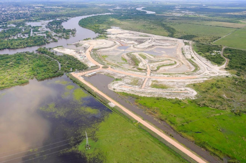 El barrio Amarras en Gualeguaychú no goza de licencia social por los daños ambientales que ocasionará.