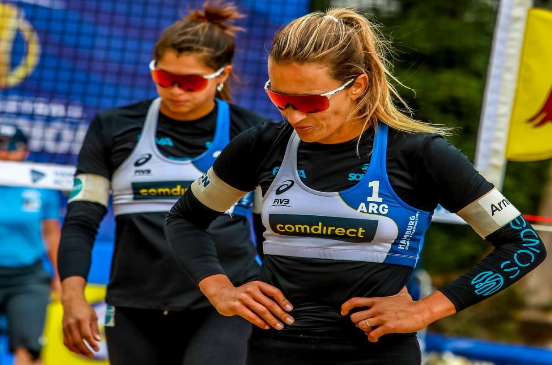 Terminó la aventura de la entrerriana Ana Galllay en el Mundial de Beach Volley